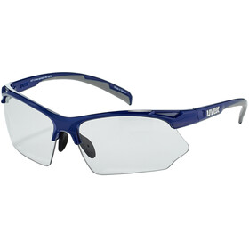 UVEX Sportstyle 802 V Briller, blue grey/smoke
